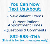 Garrett and Boyd Orthodontics offers text messaging line for patients to contact the office